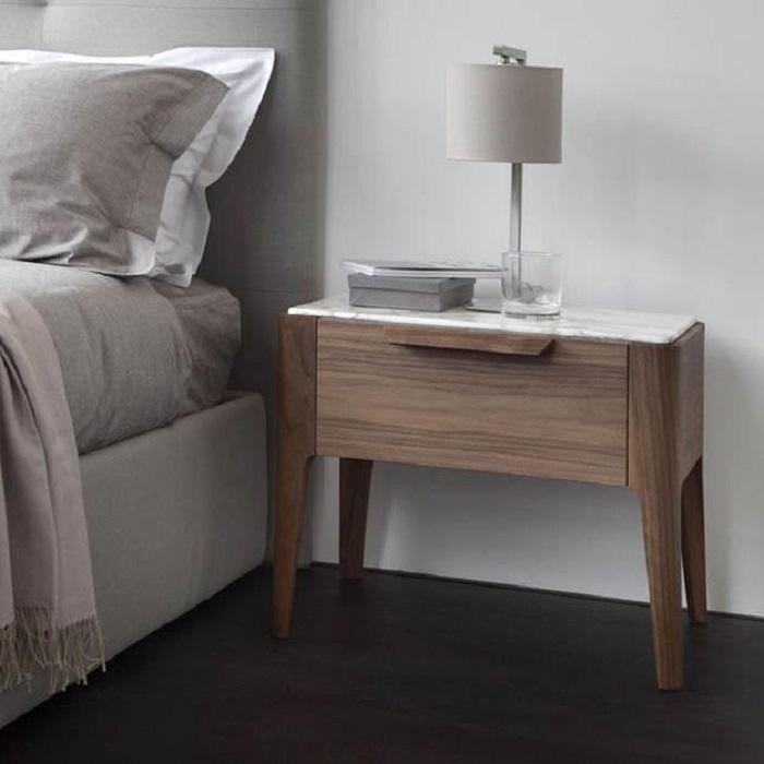 Scandinavian bedside tables