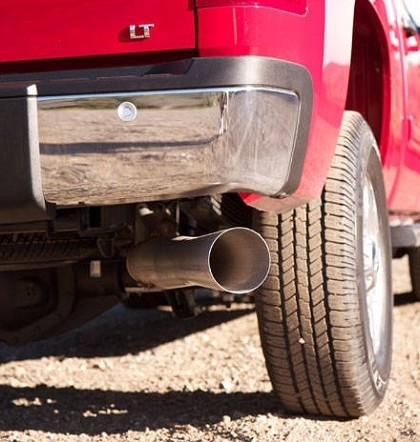 4WD exhaust