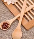 wooden tea spoons