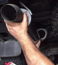 Exhaust on Your Land Cruiser 100