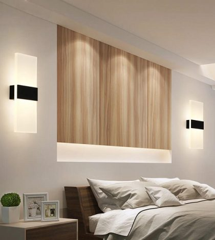 wall led lights for bedroom
