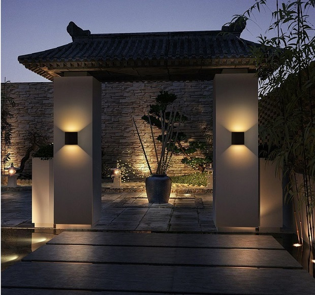 wall led lights outdoor
