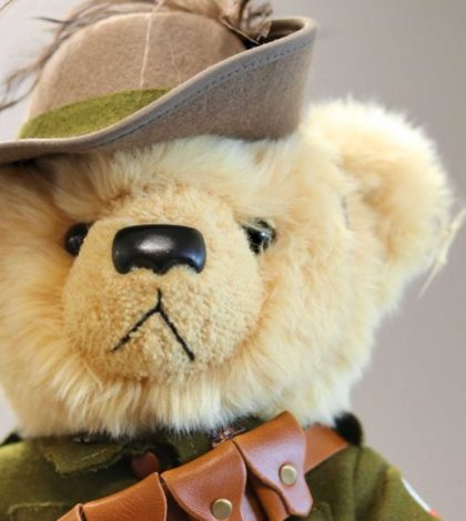 anzac teddy bear