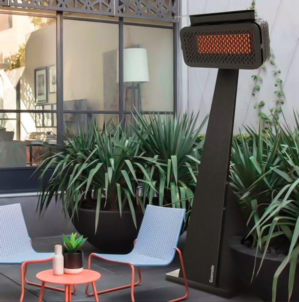 outdoor free standing gas heater
