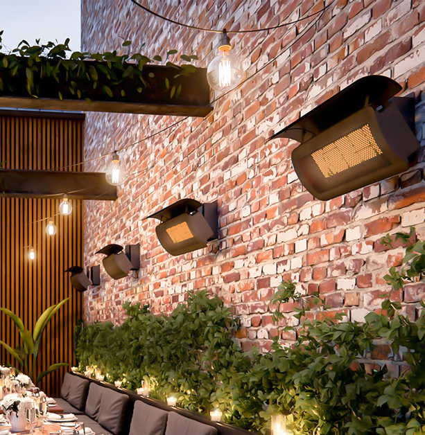 wall gas heaters outdoor