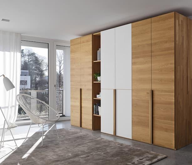 modern solid wood wardrobe