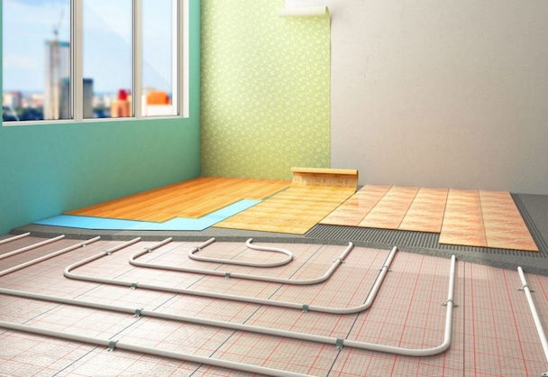 heating underfloor