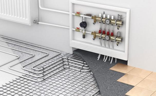 easy install underfloor heating