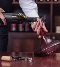 wine sommelier red wine