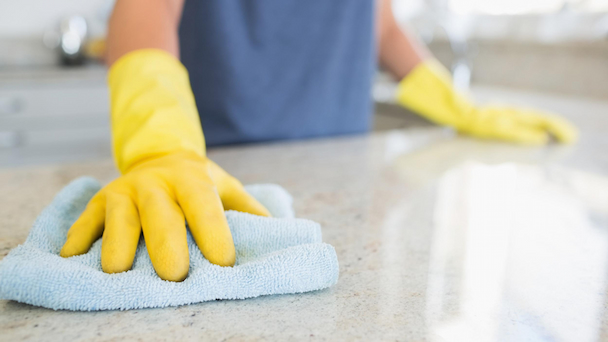 cleaning your counters
