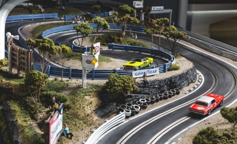 slot car setup