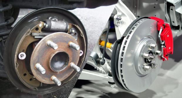drum vs disk brakes